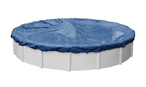 Rip-Shield Pro-Select Winter Pool Cover for Round Above Ground Swimming Pools, 28-ft. Round Pool - Robelle 4928-4