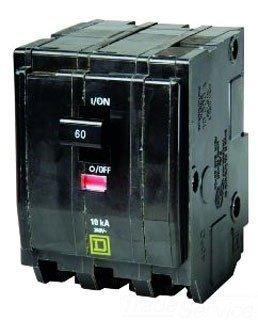 QO360 SQD 3P-240V-60A CB circuit breaker by Square D (Sqd Breaker)
