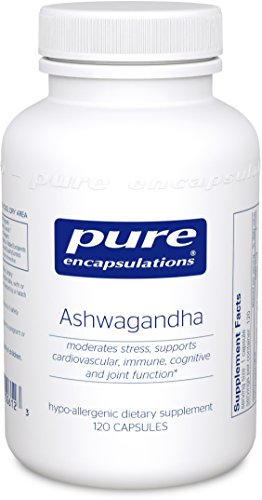 Pure Encapsulations - Ashwagandha - Supports Cardiovascular, Immune, Cognitive, and Joint Function and Helps Moderate Occasional Stress* - 120 Capsules