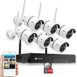 Home Security Camera System – Forcovr 8 Channel HD 1080P Wireless Surveillance Cameras System 1PC CCTV Network Recorder and 6PCS 960P Outdoor Waterproof IP Cameras With Night Vision (2TB Hard Drive) For Sale
