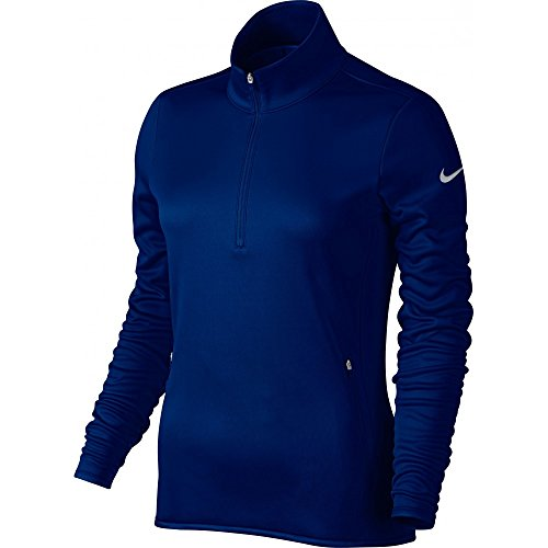 Nike Golf Women's Thermal 1/2 Zip Pullover (College Navy/Wolf Grey) M ()