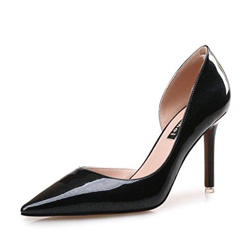 Toujours De Jolies Chaussures De Soirée Pour Les Femmes Bout Pointu Pompes Sexy Robe Chaussures Noir