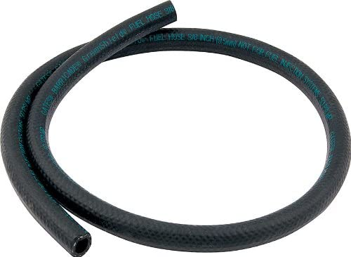 """5//16/"""" I.D Fuel Injection Fuel Line WITH Mounting Clips 30R9 3 Feet"""