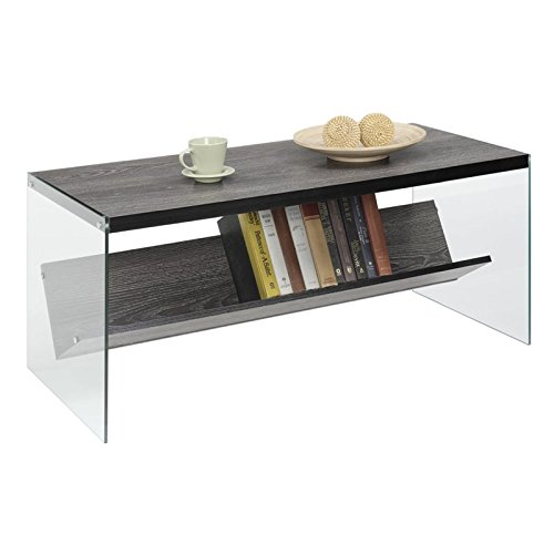 Pemberly Row Coffee Table in Weathered Gray
