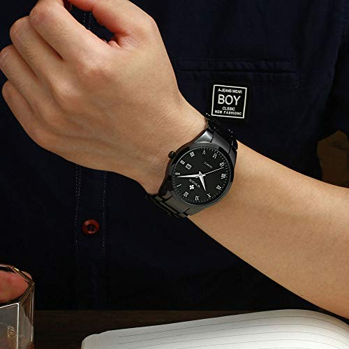 Buy black watches for men