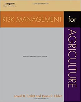 Risk Management for Agriculture
