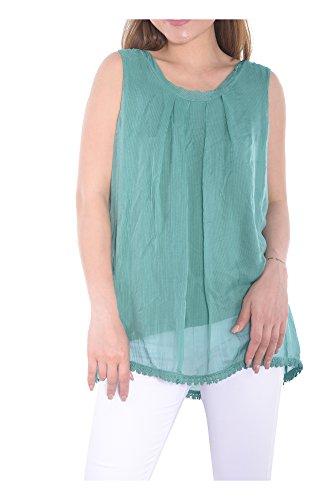 Nueva Ig018 Italia Varios Transici Camisa Abbino Hecho moda en Mujer colores superior z5SqT