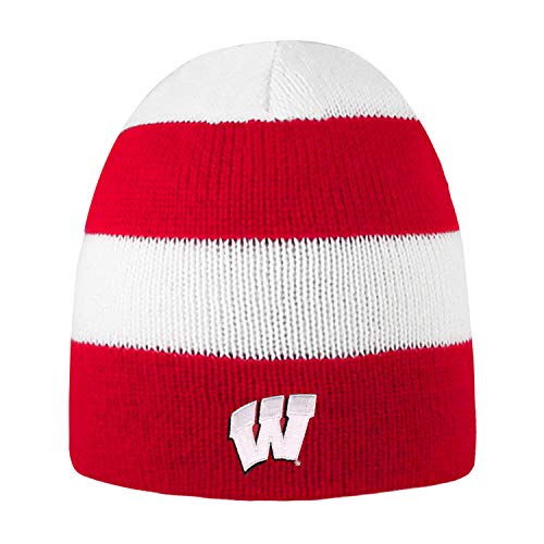 University-of-Wisconsin-Badgers-Rugby-Striped-Knit-Beanie
