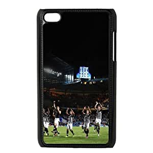 iPod Touch 4 Case Black Juventus Fight Soccer Npoyc