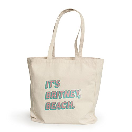 It's Britney, Beach Large Tote Bag