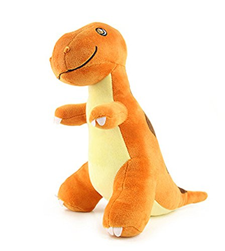 HugeHug Jurassic Dinosaur Plush Stuffed Toy for Kids 15 inches, for Boys Girls Birthday Gifts (Tyrannosaurus)]()