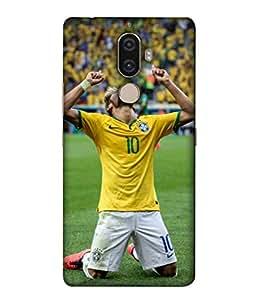 ColorKing Football Neymar Brazil 04 Multicolor shell case cover for Lenovo K8 Note