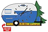Decorative Blue Camper Wall Clock from Redeye Laserworks Review