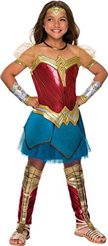 Rubie's Justice League Child's Wonder Woman Premium Costume, Small