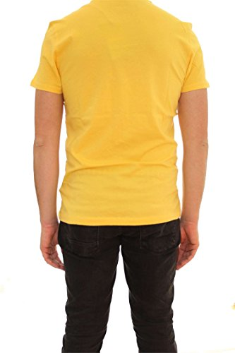 Y66 shirt T Yellow Summer Napapijri Homme tYPqS