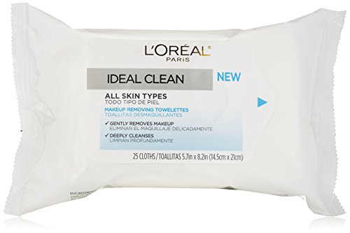 Toallitas limpia Ideal de l ' Oreal, cuenta 25