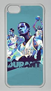 TYH - Kevin Durant Oklahoma City Thunder #35 NBA Custom PC Transparent Case for iPhone 4/4s by icasepersonalized ending phone case