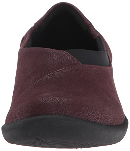 Heathered Burgundy Clarks soporte de Sillian Fabric mujer Jetay cloudsteppers xY4S0xr