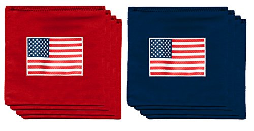 American US Flag USA 9.5oz Baggo Bean Bags by BAGGO