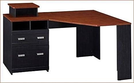 """Bush Corner Office Computer Desk 59 5/8""""W X 38 3/8"""" - Amazon.com : Bush Corner Office Computer Desk 59 5/8"""