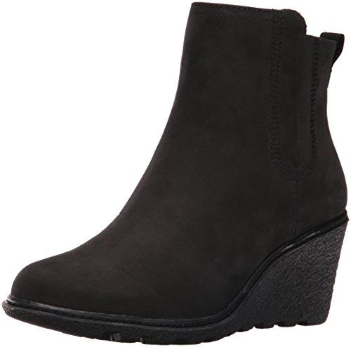Timberland Women's Amston Chelsea Boot,Black Nubuck,9 M US by Timberland (Image #1)