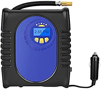 Grandtau Auto Electric Digital Portable Air Compressor