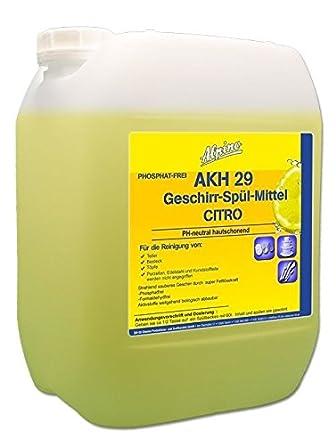 Detergente para lavavajillas Limón akh29 10 L: Amazon.es: Iluminación