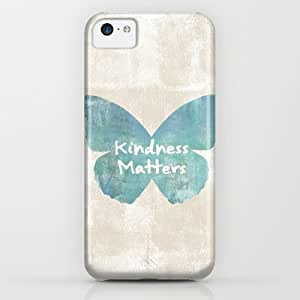 classic - Kindness Matters Butterfly Expressions iPhone & iphone 5c Case by Zen And Chic