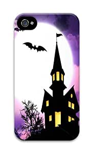 Haunted House PC Case Cover For iPhone 5 And iPhone 5S 3D