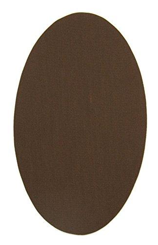 Haberdashery Online 6 rodilleras color Marrón termoadhesivas de plancha. Coderas para proteger tu ropa y reparación de pantalones, chaquetas, jerseys, ...