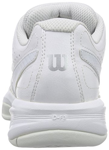 Mujer 2 Open Ice White Wil Blanco Tenis Steel Gray para 0 Grey Rush W de Zapatillas Wilson UzEqg4xwf