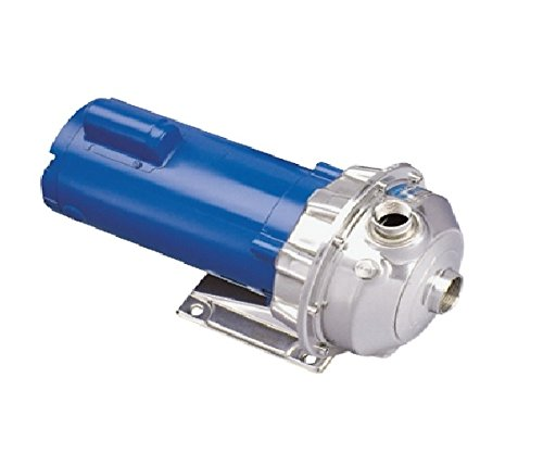Goulds 1ST1D4D4 Close Coupled Centrifugal Pump, 3/4 HP, 115-230 V, Single Phase, TEFC Enclosure by Goulds