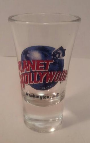 Planet Hollywood Shot Glass Washington DC Collectible
