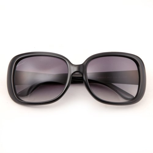 Gucci 3593/F/S Sunglasses Shiny Black / Gray Gradient
