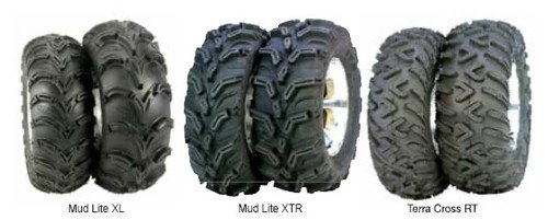 Ss212 Tire Wheel Kit - ITP Mud Lite XL, SS212, Tire/Wheel Kit - 26x12x12 - Platinum 46531R