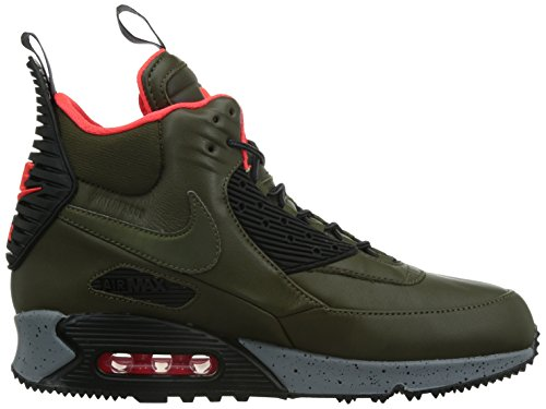 Loden Sportive Scarpe Nike Black 90 Uomo Sneakerboot Crimson Wntr Air Max brght Dark 6nBaqBYz