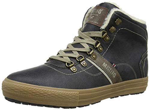 graphit 259 Uomo A Sneaker Mustang High Grigio Collo Alto Top afWvcA