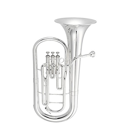 Jupiter Standard Bb Baritone Horn Silver Plated Finish, JBR700S by Jupiter