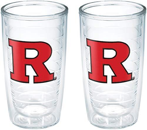- Tervis Rutgers University NJ Emblem Tumbler (Set of 2), 16 oz, Clear