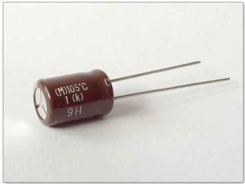 9H 105/°C 1 10 St/ück M k 10 x ELKO Kondensator 50V 100uF Modell: KY1x10