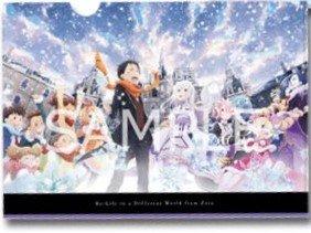 Re:ゼロから始める異世界生活 Memory Snow クリアファイル 前売り券 特典 kadokawa 角川 カドカワ エミリア レム 全員