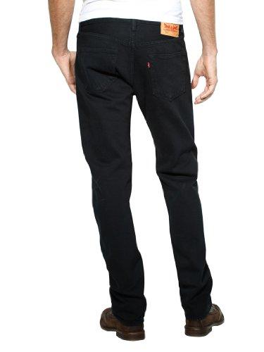 Levi's Mens 501 Straight Jeans Black Size 38 Length 32 (Us ...