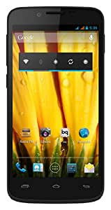 "BQ Aquaris 5 HD - Smartphone libre Android (pantalla de 5"" HD, 16 GB, cámara 8 MP, Quad-Core, 1 GB RAM), negro"
