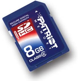 NEW 8Gb Genuine Patriot Memory Card for NIKON COOLPIX S4000 Digital camera
