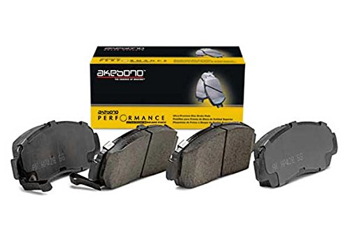 - Akebono Performance ASP784 Akebono Performance Ultra Premium Ceramic Disc Brake Pad Kit