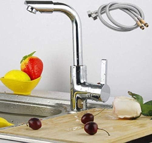 CHENBIN-BB 蛇口キッチン蛇口銅キッチンの食器蛇口回転可能なホット&コールド混合水流域の蛇口のシンクの蛇口