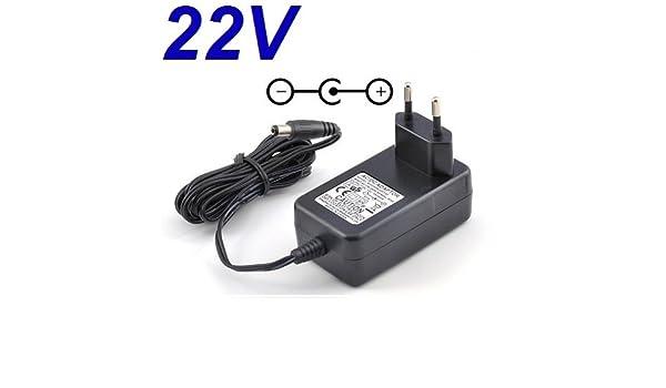 CARGADOR ESP /® Cargador Corriente 22V Reemplazo Black /& Decker HKSD-023247 5102767-32 22.6V Recambio Replacement