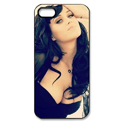 iPhone 5 back case cover with popular singer Katy Perry logo design