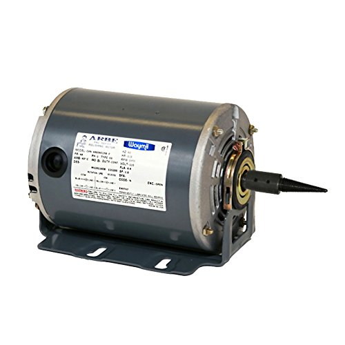 BENCH POLISHING MOTOR SINGLE SPINDLE - 3450RPM 115V