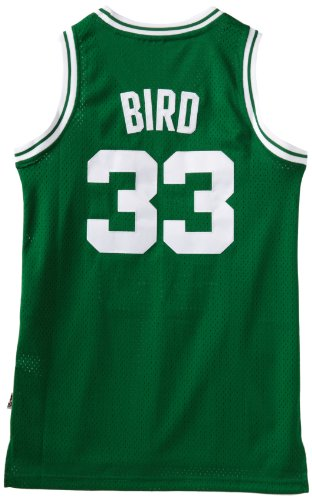 NBA Boston Celtics Larry Bird Swingman Jersey, Green, Large